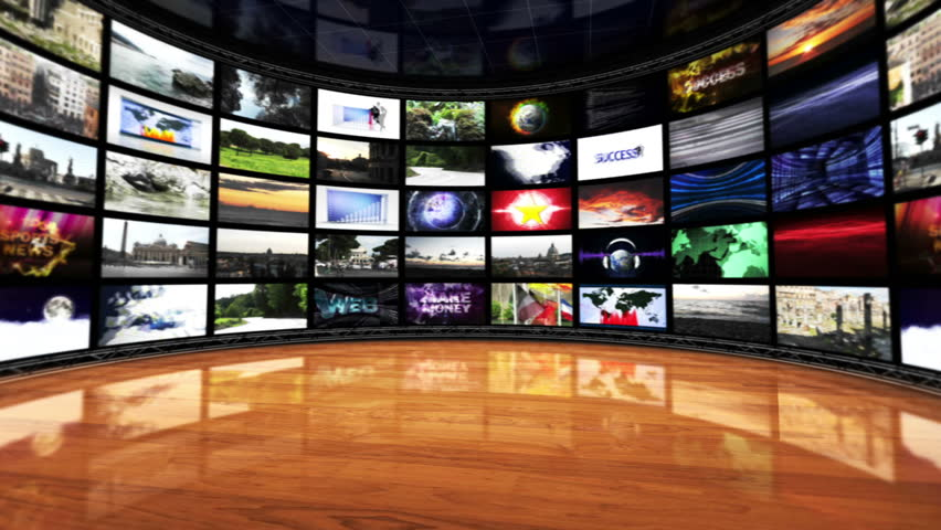 Monitors Room Background, Loop