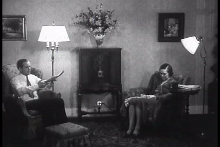 A man is denied a bank loan in 1935 and looks for answers.