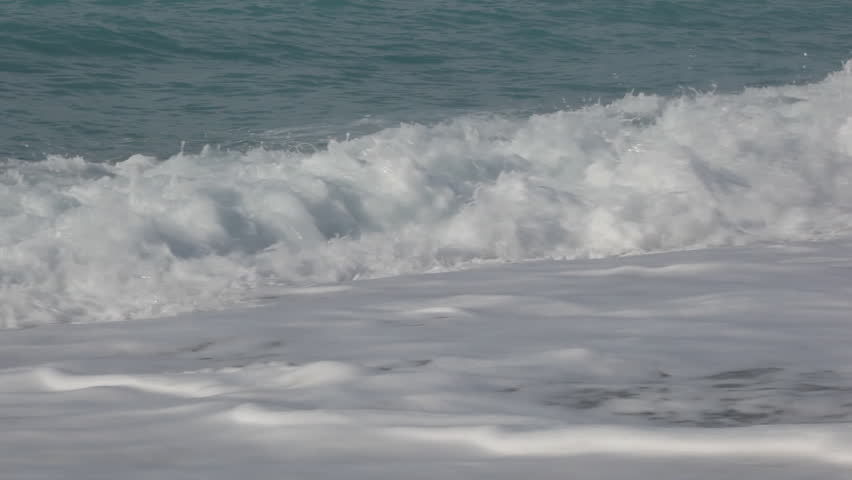 Ocean - waves on a lovely beach