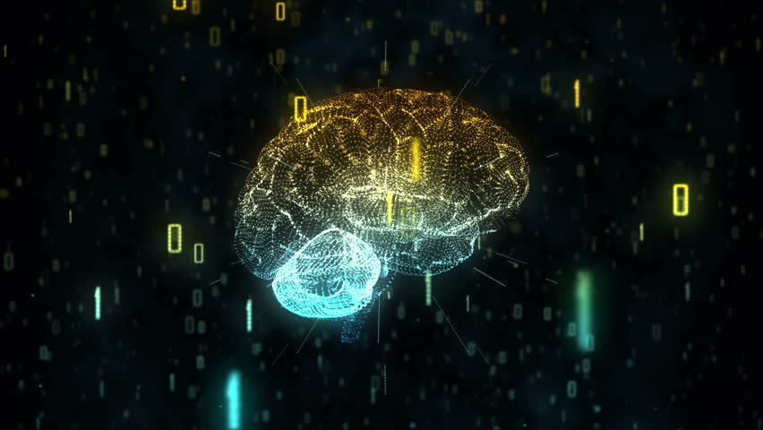 Digital Artificial Intelligence Brain in Cloud of Binary Data
