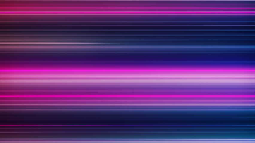 Fast Neon Light Streaks Loop 1A: fast speed ride neon glowing flashing lines streaks in fun purple pink and cool blue color, UltraHD and FullHD and seamlessly loop-able