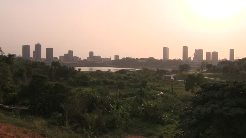 Abidjan is the economic and former official capital of Côte d'Ivoire.