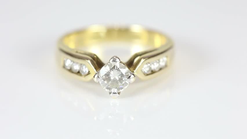 Diamond Ring Stock Footage Video 100 Royalty Free 5451215