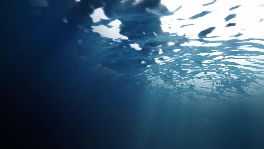 Ocean surface water from inside | Shutterstock HD Video #5572067