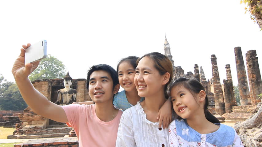 Image result for happy asian family travel