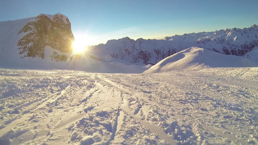 Skiing front view | Shutterstock HD Video #5682755