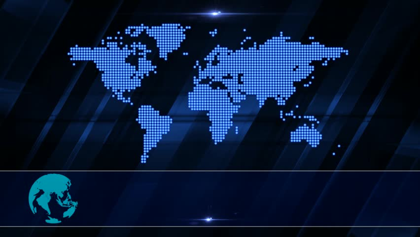 Broadcast News Background Endless Loop Stock Footage