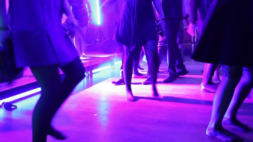 dancing crowd #5687015