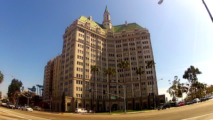 Long Beach Ca February 10 2017 The High Rise Gothic Styled Villa Riviera Historic Apartment Building Circa In Built 1929