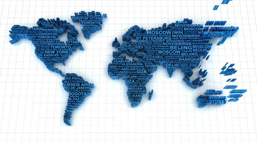 3d Animation Of World Map Stock Footage Video 100 Royalty Free