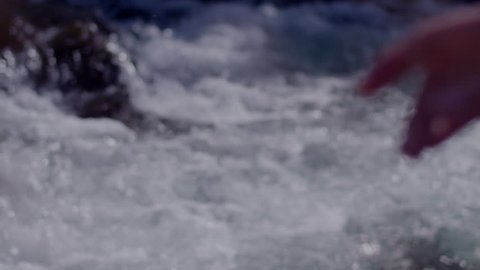 waterfall tock footage
