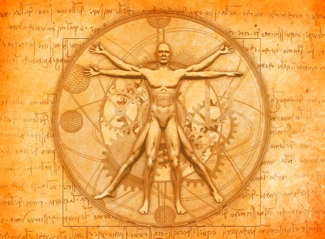 animated vitruvian man by leonardo da vinci stock footage video 11990480 shutterstock. Black Bedroom Furniture Sets. Home Design Ideas