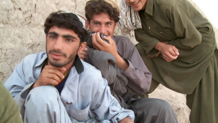Afghanistan Circa 2008 Afghan Young Stock Footage Video