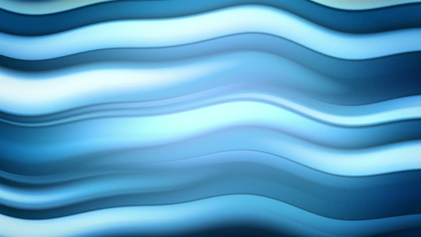 Waverly - Stylized Blue Waves Video Background Loop /// Abstract blue waves form a harmonic evolving pattern. Meditative and relaxing.