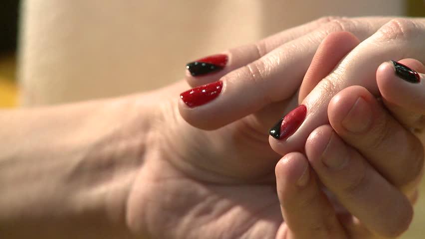Stock Video Of Nail Art Manicure Making Nice Manicured 5873435