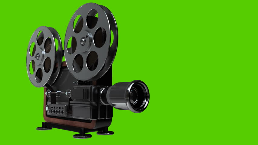 Picture of old fashioned movie projector 30