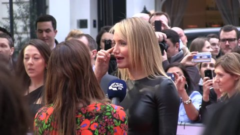LONDON - APRIL  02: Cameron Diaz attends the UK Gala Premiere of 'The Other Woman' at The Curzon Mayfair on April 02, 2014 in London