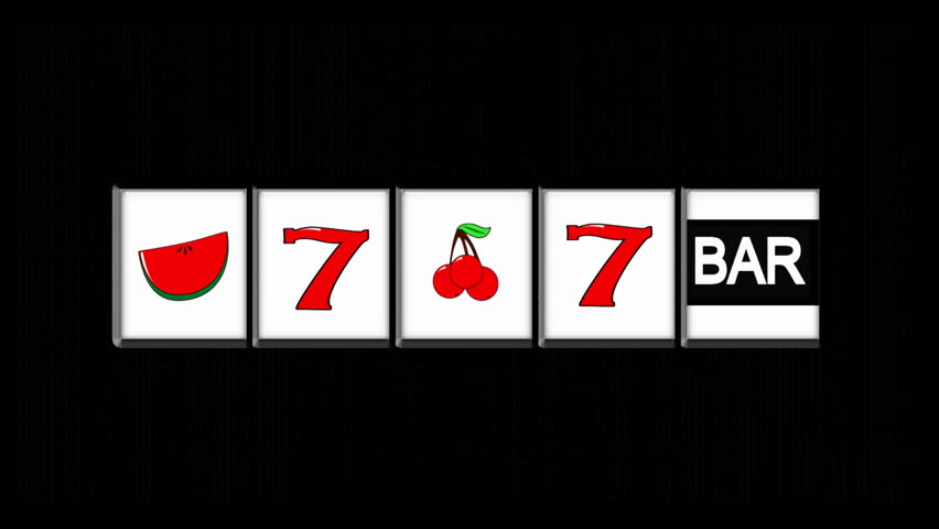 Slot Machine on Black HD1080 | Shutterstock HD Video #607135