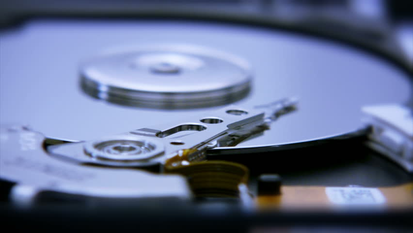 Hard Disk Drive closeup 4