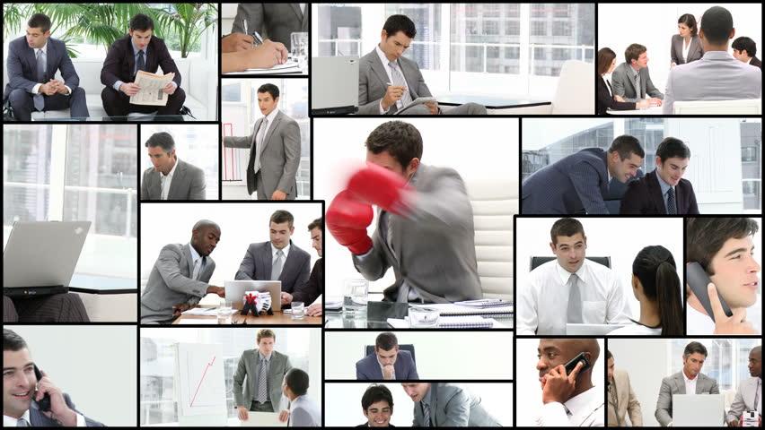 Men working in the office in High definition video format   | Shutterstock HD Video #612013