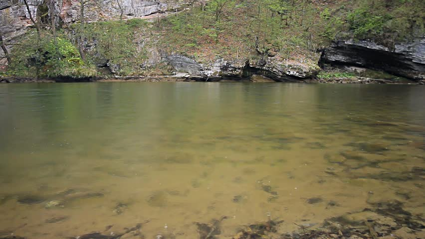 Calm Shallow Water River, Source Stock Footage Video (100% Royalty-free)  6138455 | Shutterstock