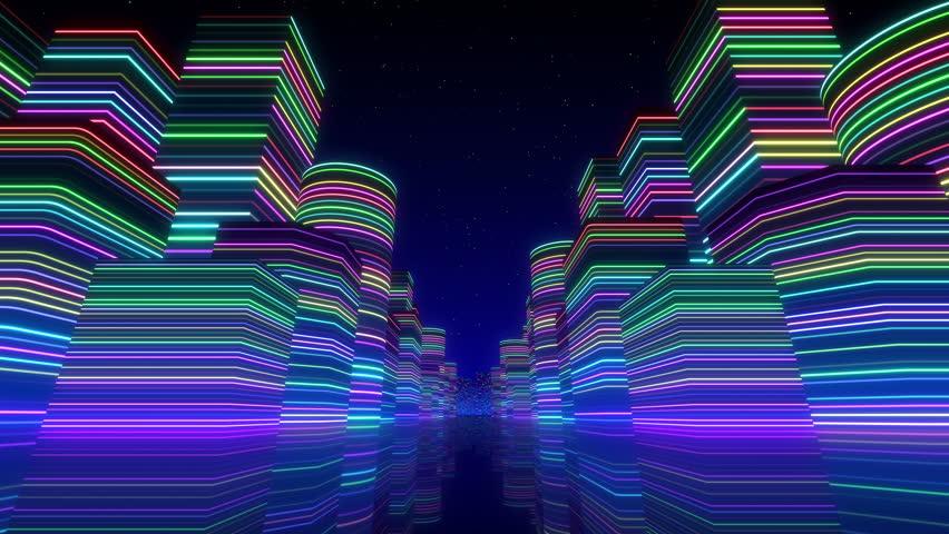 City Neon Lights. #6153095