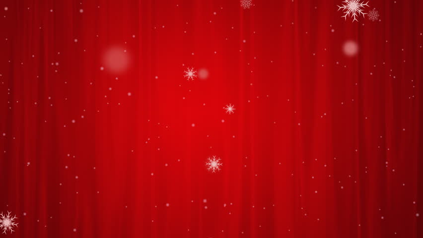 browse video categories - Red Christmas Background