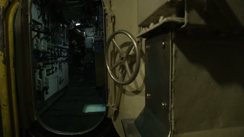 Inside view of an Italian old submarine  | Shutterstock HD Video #6291965