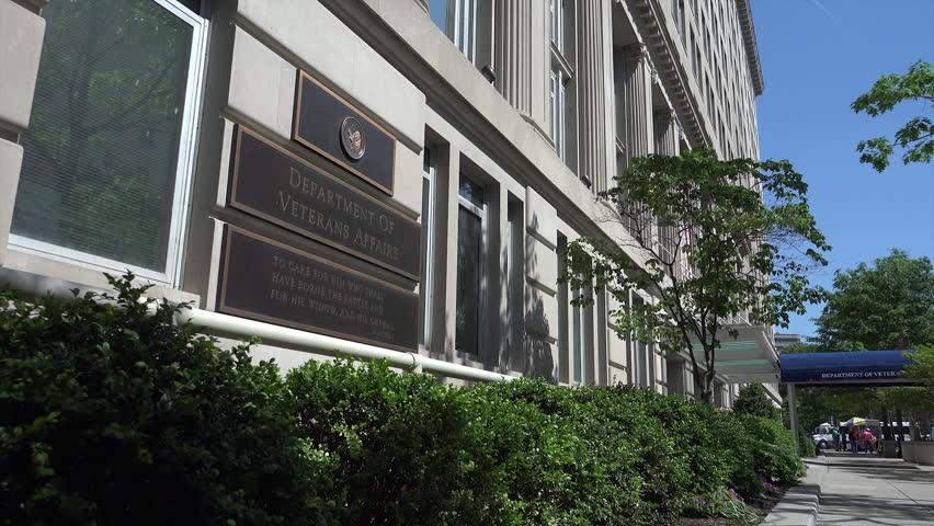 WASHINGTON, DC - MAY 2014: US Dept. Of Veterans Affairs ...
