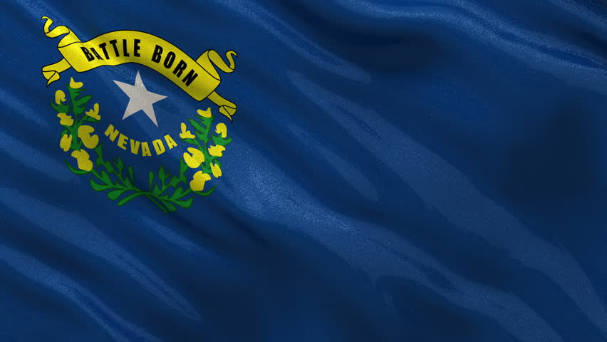 flag of nevada stock footage video | shutterstock