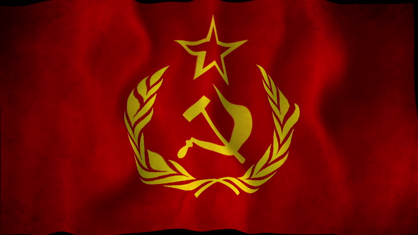 Animated Communist Flag Stock Footage Video (100% Royalty-free) 6408215 |  Shutterstock