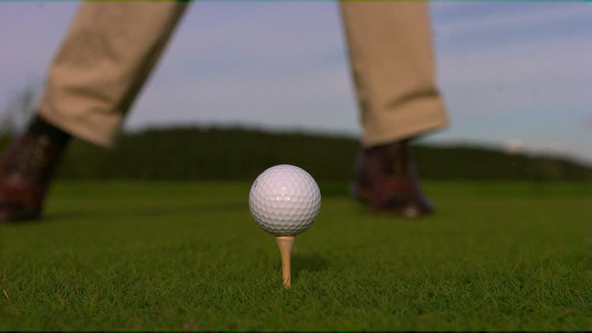 Golf Slow motion. Phantom HD 720P