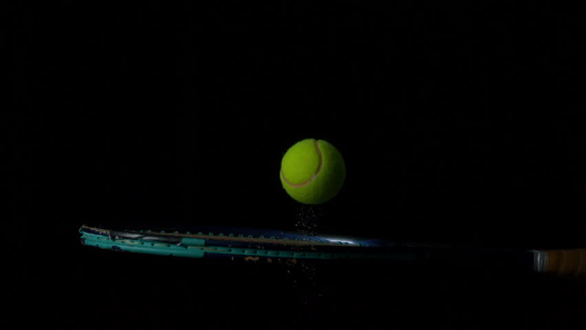 Tennis Ball Bouncing On A Stock Footage Video 100 Royalty Free