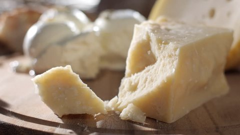 parmesan cheese macro stock footage food