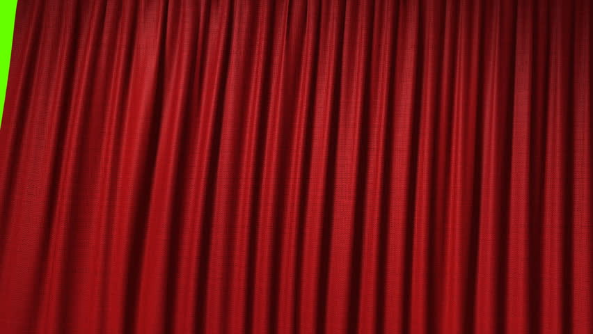 Opening red curtain, 3d animation | Shutterstock HD Video #653635