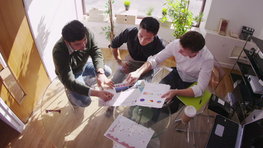 Coworkers having a meeting | Shutterstock HD Video #6559031