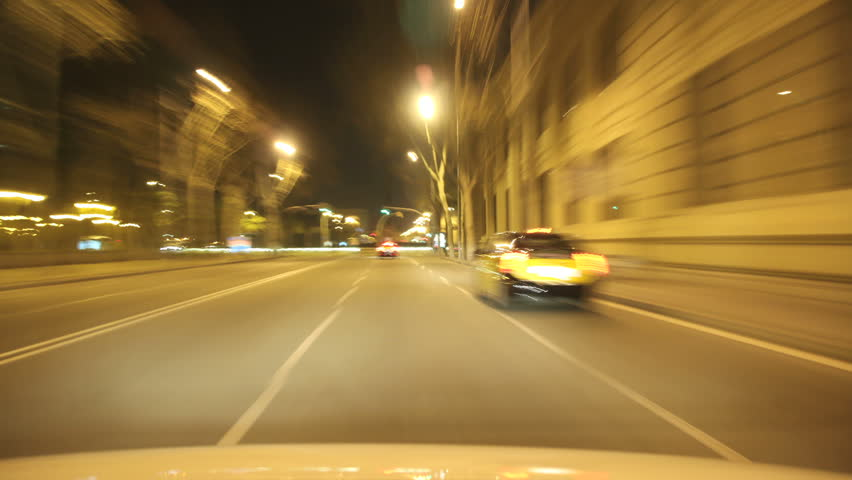 A time lapse driving to the city center in Barcelona.  3 different shutter speeds to suit your project. Gorgeous, high-energy city and roads time lapse.  Good for a video background.  | Shutterstock HD Video #6571775