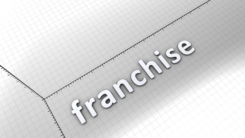 Growing chart graphic animation, Franchise. | Shutterstock HD Video #6591815