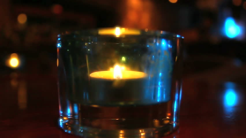 Candle glass | Shutterstock HD Video #6637475