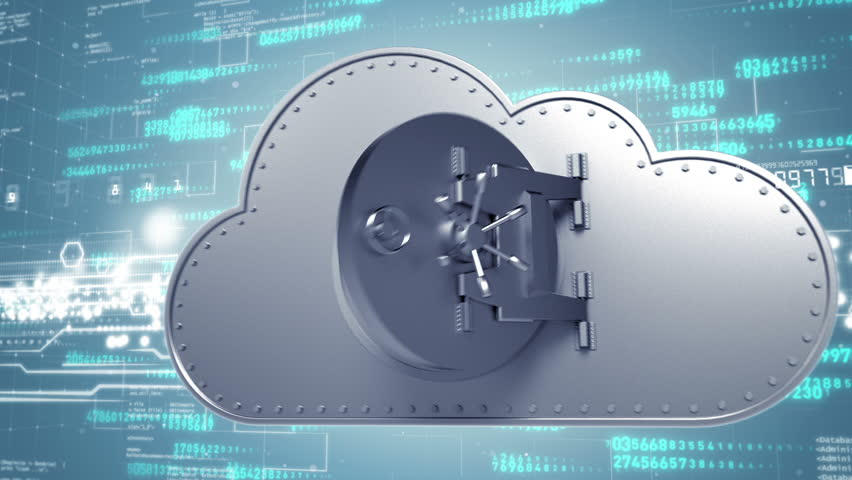 Secure cloud computing concept