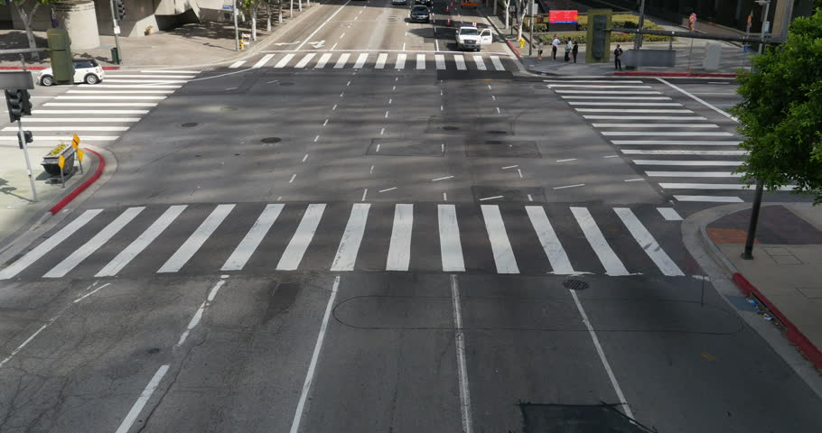 Street Traffic 05 LA Downtown | Shutterstock HD Video #6743050