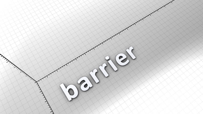 Growing chart graphic animation, Barrier. | Shutterstock HD Video #6749275