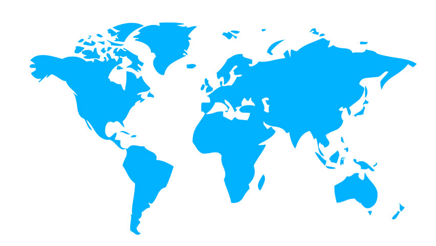World map wraps to globe white background classic tv news style world map with social friends hd stock footage clip gumiabroncs Choice Image