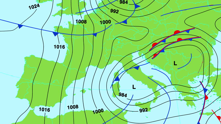 Animated Weather Forecast Map Of North West United States Of - Euro weather map us
