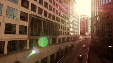 business building background company office の動画素材 完全