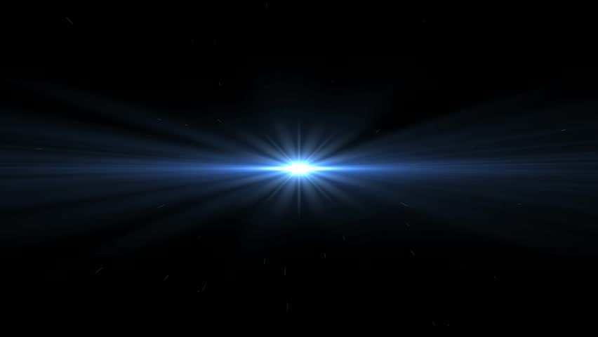 White Lens Flare Abstract Background Stock Footage Video ...
