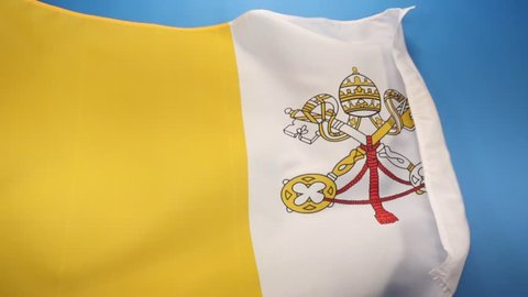 Flag of the Vatican City - adopted in June 1929, the year Pope Pius XI signed the Lateran Treaty with Italy, creating a new independent state governed by the Holy See.
