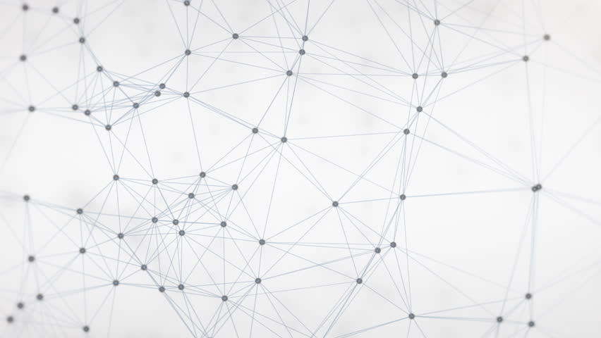 technology network loop background stock footage video