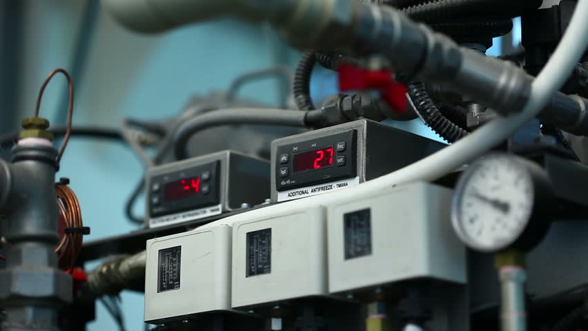 View of lit indicators on panel | Shutterstock HD Video #7200985
