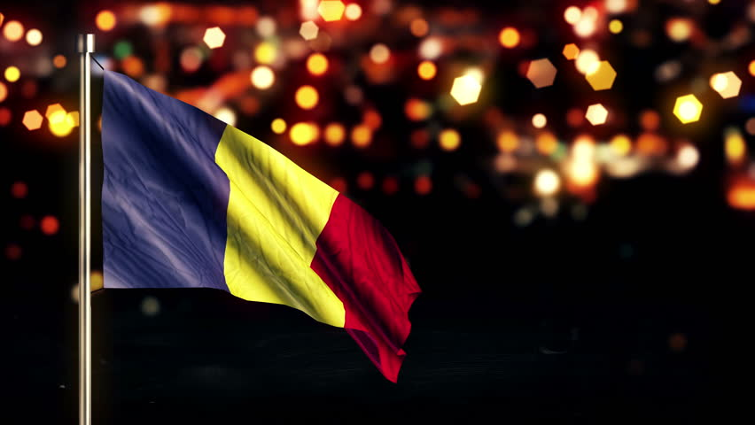 Animated Romania Flag by dragosburian | 3DOcean